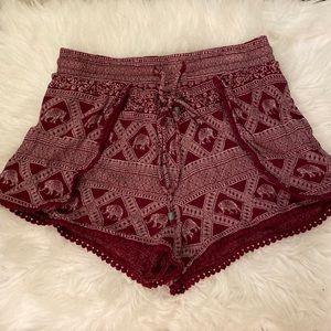 Elephant BOHO Shorts